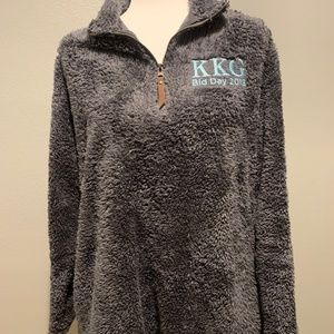 Kappa Kappa Gamma Furry Fleece Pullover